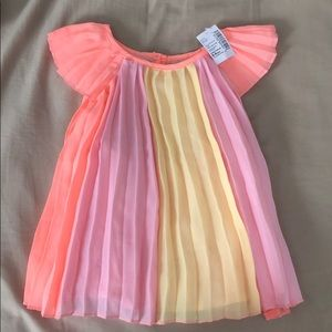 Colorful baby dress